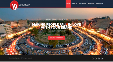Advertisement business portal Coremedia