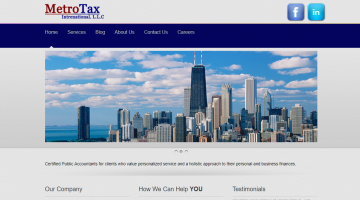CPA Metrotaxinternational Business portal