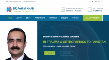 Portal for orthopedic Consultant / Doctor